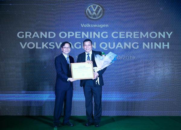 Volkswagen Việt Nam khai trương đại lý chuẩn 4S ở Quảng Ninh
