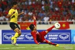 Quang Hải ghi tuyệt phẩm, Việt Nam thắng nghẹt thở Malaysia