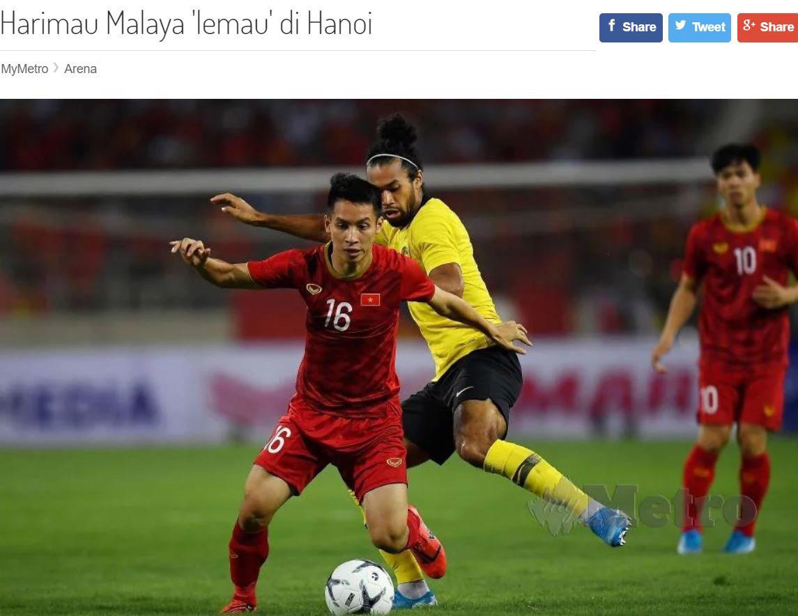 Báo chí Malaysia: 'Việt Nam bẻ nanh mãnh hổ'