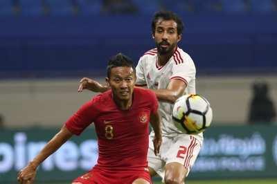 Indonesia thua đậm UAE trước trận tiếp tuyển Việt Nam