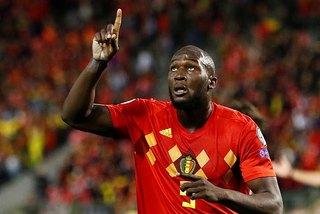 Lukaku cán mốc 50 bàn, Bỉ đoạt vé đầu tiên dự VCK EURO 2020