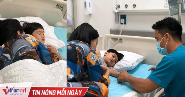 Ngọc Lan một mình đưa con nhập viện giữa tin đồn hôn nhân rạn nứt