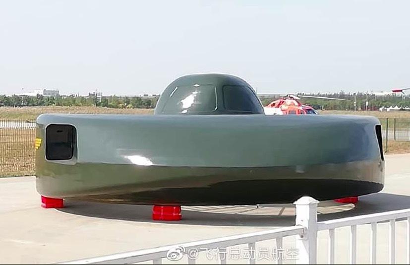 Trực thăng đĩa bay của TQ gây sốt