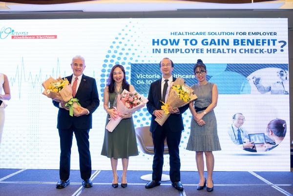 Victoria Healthcare tổ chức tọa đàm kết nối doanh nghiệp