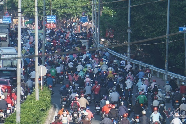 HCM City to deal with exhaust gas from motorbikes