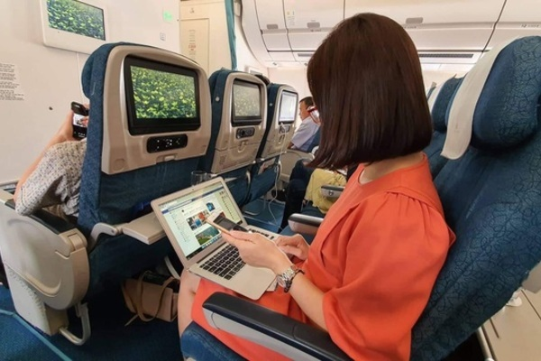 in-flight wifie service,vietnam airlines,vietnam economy,Vietnam business news,business news