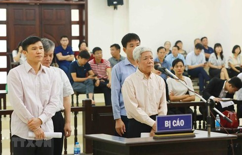 High-level Peoples Court,Vinashin,Vietnam Shipbuilding Industry Group,defendants,social news,english news