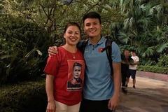 Sau trận thắng Malaysia, Quang Hải lập tức khoe 'người phụ nữ của đời mình'
