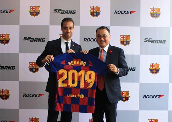 Pin Sebang tài trợ bóng đá Barcelona để phát triển thị trường Việt Nam