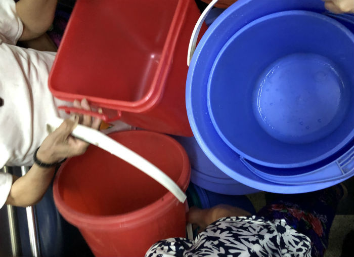 chung cư mất nước,nước sinh hoạt