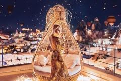 Khi các thắng cảnh du lịch làm nền cho mỹ nhân trong những chiếc đầm tuyệt đẹp