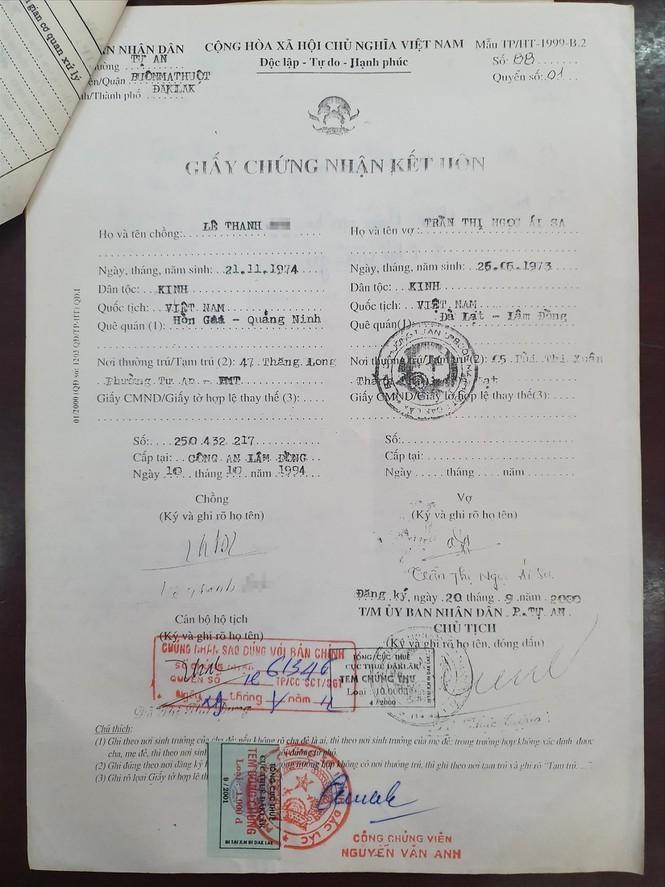 Nữ trưởng phòng Ái Sa đánh tráo nhân thân, bất thường hồ sơ tư pháp