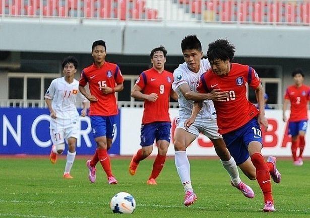 U19 Việt Nam vs U19 Hàn Quốc,U19 Việt Nam