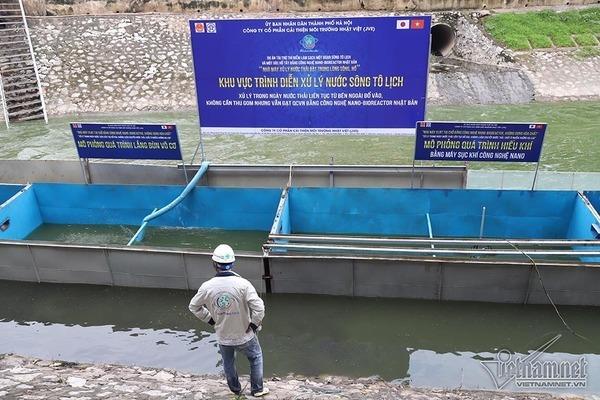ô nhiễm,ô nhiễm môi trường,sông Tô Lịch