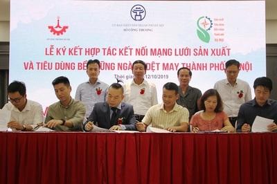 Hà Nội đẩy mạnh kết nối sản xuất và tiêu dùng bền vững ngành dệt may