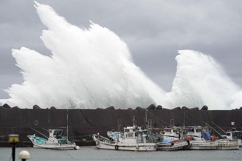 Nhật,siêu bão,cuồng phong,bão Habigis