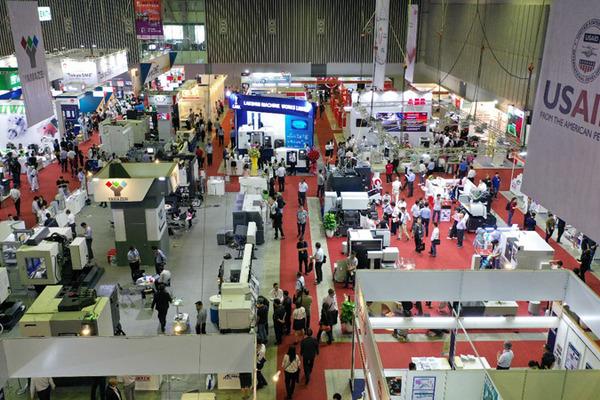 3 triển lãm quốc tế trong ngành cơ khí thu hút hàng nghìn khách tham quan