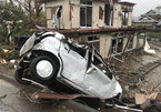 Đang oằn mình chịu siêu bão, Nhật hứng thêm động đất