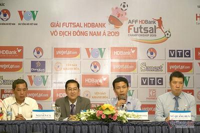 Giải futsal vô địch ĐNÁ 2019: Hứa hẹn đầy hấp dẫn