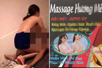 Massage 'chơi tới bến' vùng giáp ranh Sài Gòn
