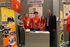 Việt Nam giành 2 huy chương vàng tại cuộc thi sáng chế trẻ quốc tế