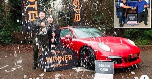 Anh thợ nước may mắn trúng liên tiếp hai siêu xe