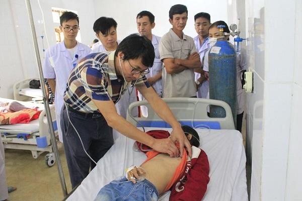 Bệnh viện E chuyển giao kỹ thuật cho bệnh viện Đa khoa huyện Hương Sơn