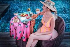 Nữ tiếp viên xinh đẹp giàu có bậc nhất Singapore là ai?
