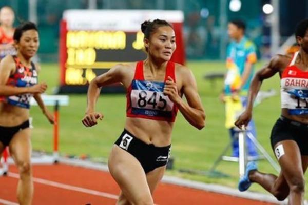Vietnamese runner,Quach Thi Lan,gold medals,Asian Championships 2017,Nirmala Sheoran,positive,banned substance,stanozolol test,Kemi Adekoya,International Association of Athletics Federation