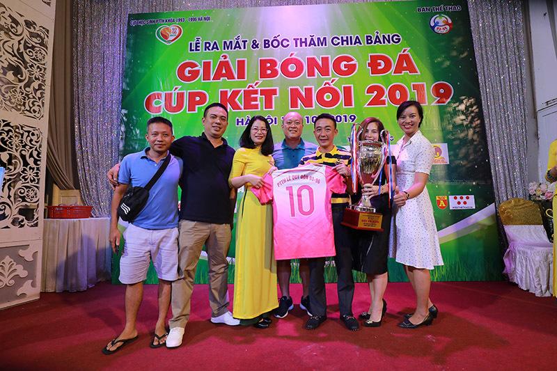 Giải bóng đá Cúp kết nối 2019: Háo hức chờ ngày hội ngộ
