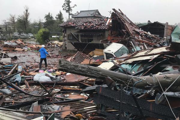 siêu bão,Nhật Bản