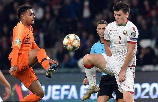 Belarus,Hà Lan,Van Dijk