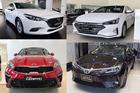 Xe sedan hạng C: Kia Cerato tăng tốc đe dọa ngôi vương của Mazda3