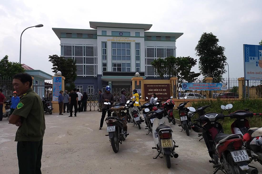 Bảo vệ Bảo hiểm xã hội Nghệ An chết tại trụ sở với nhiều vết thương ở đầu