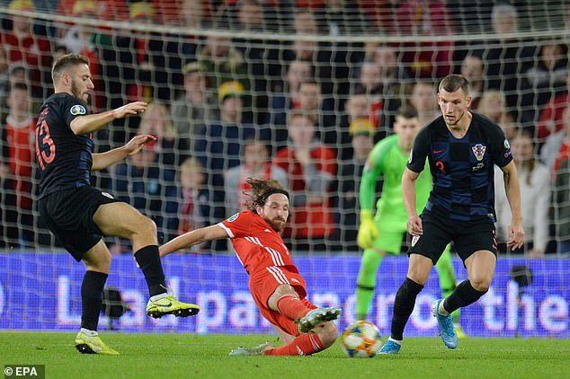 Wales,Croatia,Gareth Bale,Vòng loại EURO 2020