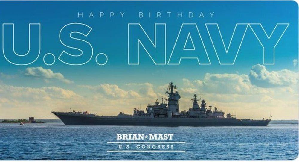 Đăng ảnh mừng ngày Hải quân, nghị sĩ Mỹ 'hớ' nặng