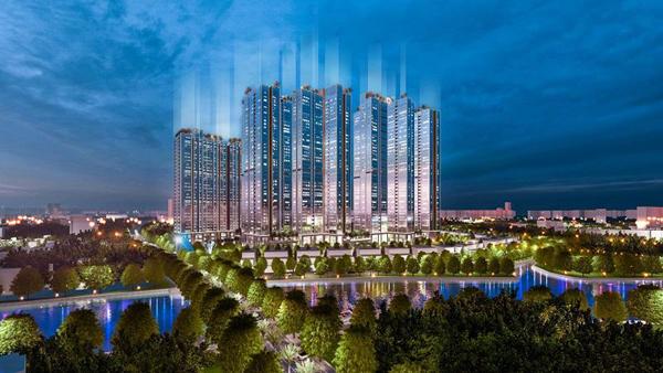 Sunshine City Sài Gòn xa hoa mà tiết kiệm nhờ phủ kính Low-e