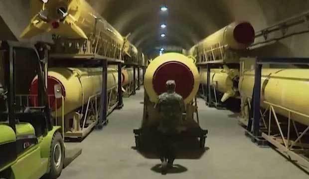 video,thành phố tên lửa,Iran,căn cứ ngầm
