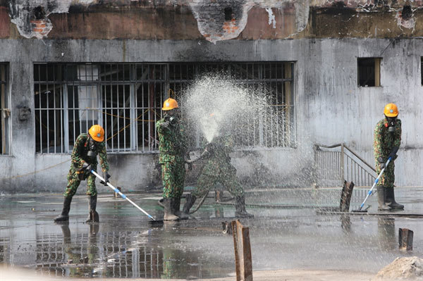 Toxic waste removed from site of Hanoi's light bulb factory fire