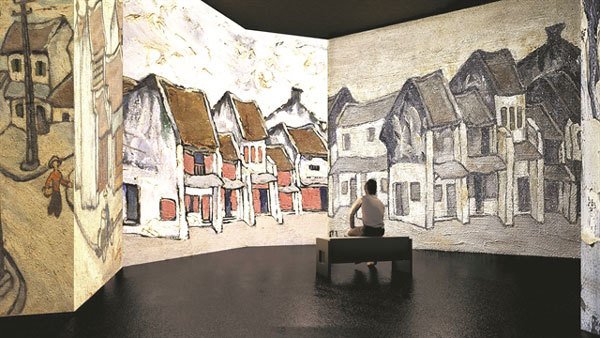 Exhibition shows art of Bui Xuan Phai through latest tech