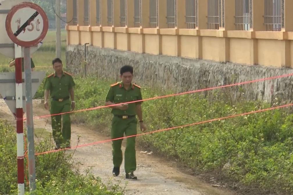 Vụ giết bảo vệ BHXH ở Nghệ An: Mất xe máy, phòng thủ quỹ bị lục tung