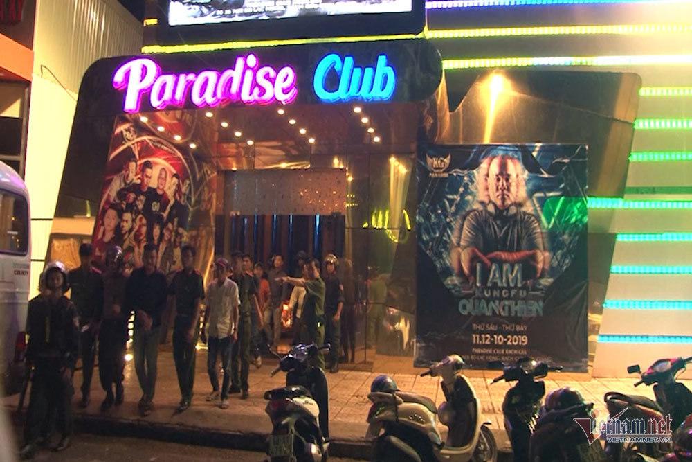 quán bar,dân chơi,vũ trường,Kiên Giang,ma túy