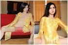 Dân mạng 'đào mộ' bộ ảnh Ngọc Trinh diện áo dài không cần mặc quần từng chấn động showbiz