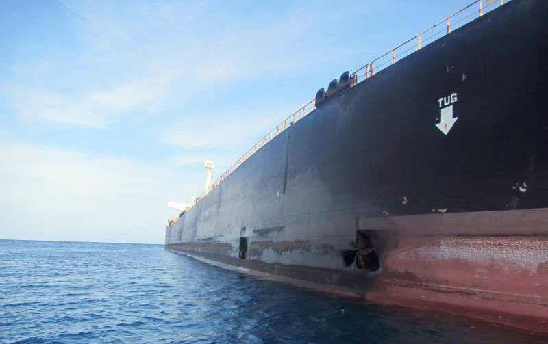 Iran,tàu dầu,tấn công,Biển Đỏ,Ảrập Xêút