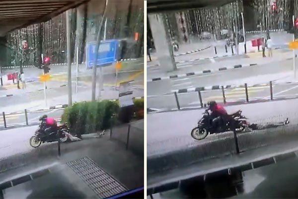 Người phụ nữ bị kẻ giật ví kéo lê trên đường