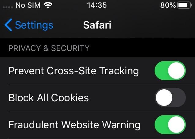 Dữ liệu người dùng,Apple