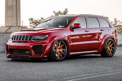 Bản độ Jeep Grand Cherokee SRT8 mạnh gấp 2 lần Lamborghini Urus