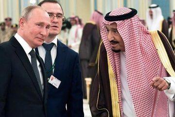 Món quà đặc biệt Putin tặng Vua Ảrập Xêút