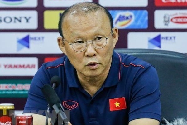 Coach Park confident of Vietnam's win against Indonesia