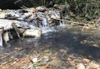 Lật mở việc sản xuất nước sông Đà biết có váng dầu vẫn cấp cho dân
